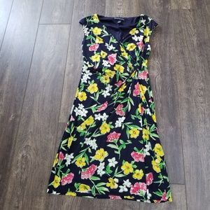 American Living Floral Sleeveless Dress - size 6